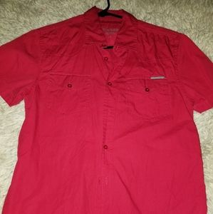 Guess button up shirt